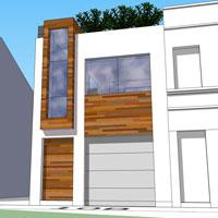 Projet maison en ville