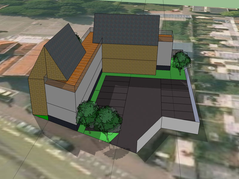 Projet de réalisation d'un immeuble collectif