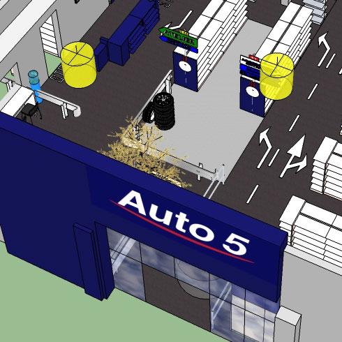 AUTO5 renouveau du concept de vente